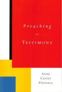 """Preaching as Testimony"" Book cover"